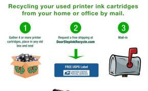 DoorStepInk Recycle Program