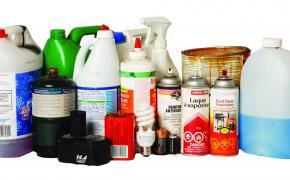 Photo of hazardous waste products