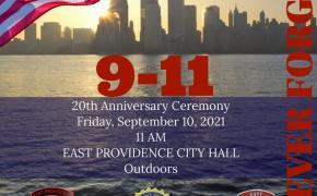 9/11 Anniversary Ceremony Flyer