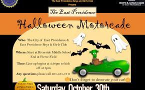 Halloween Parade Flyer
