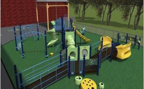 Whiteknact School Playground Model 1