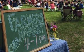 Weaver Library Farmer's Market
