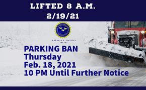 Parking Ban Lifted