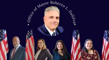 Mayor's DaSilva and Staff