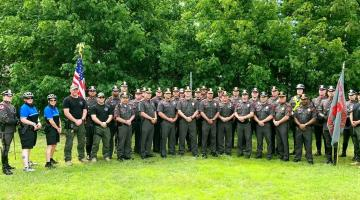 Photo of the members of the East Providence Police
